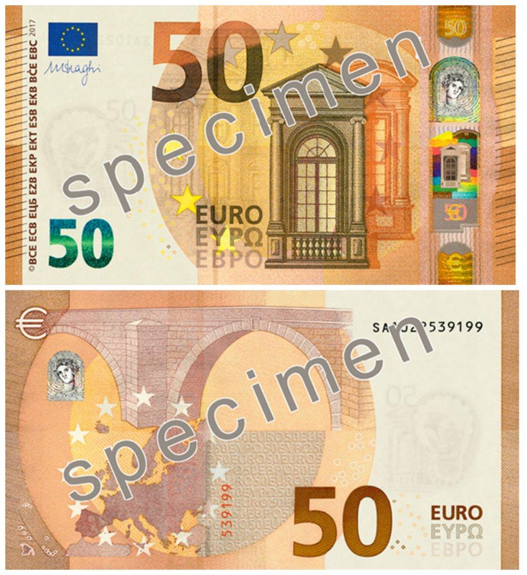 Einführung Neuer 50 Euro Schein