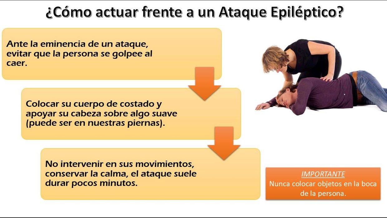 Como actuar ante ataque epilepsia