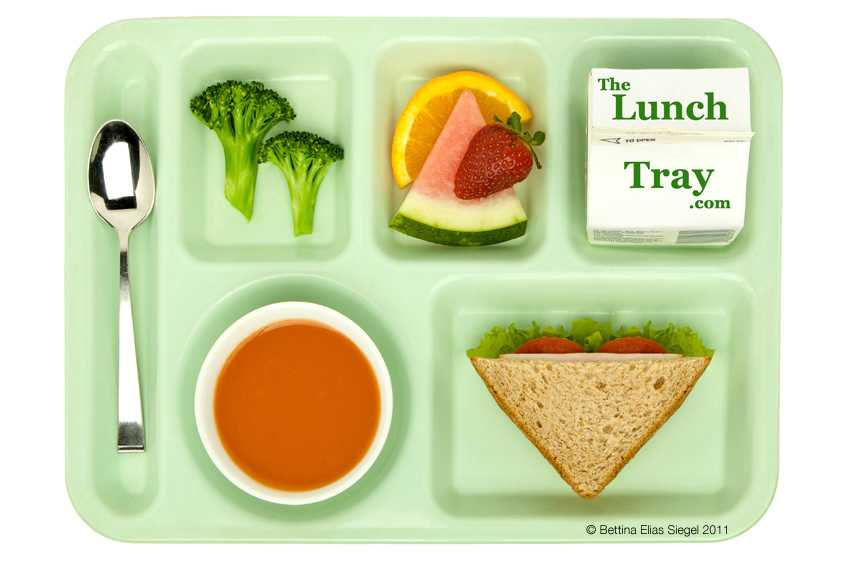 The Lunch Tray Menu by: Wendy Lewis