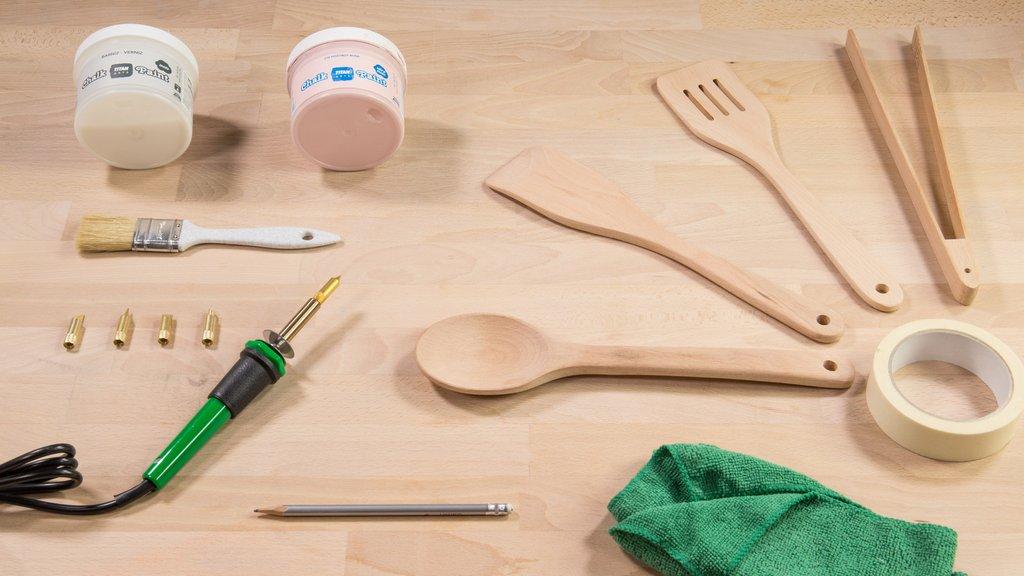 C mo decorar utensilios de cocina handfie for Lista de materiales de cocina