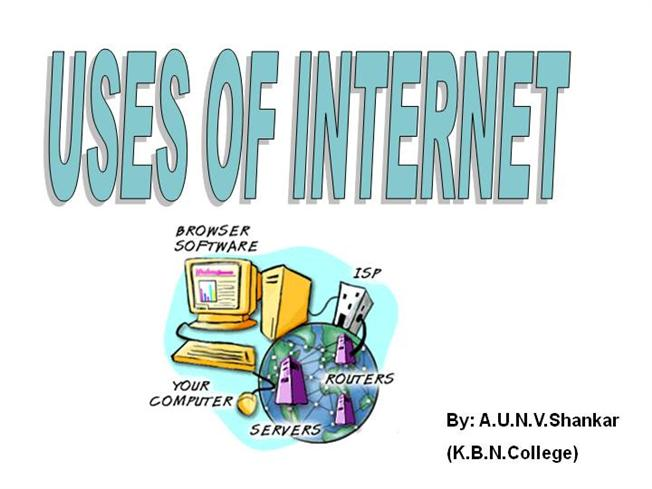 Essay on Uses of Internet
