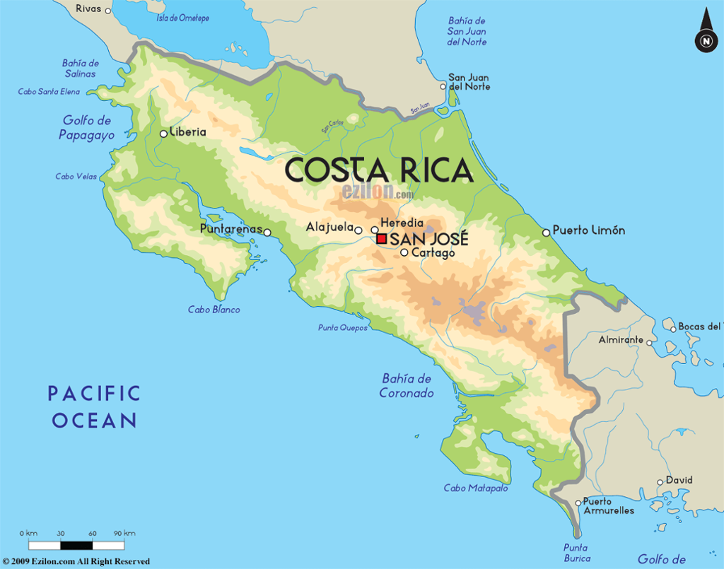 Costa rica 39 s capital population 290 000 puerto limon i - Office du tourisme costa rica ...