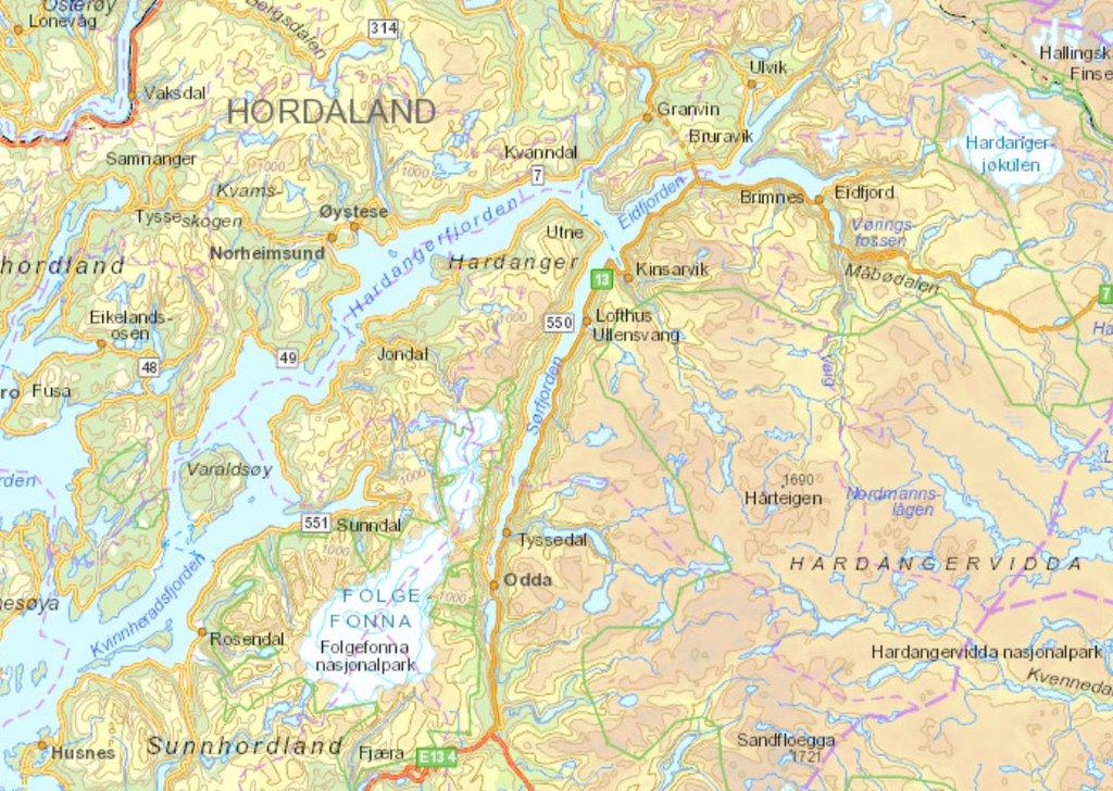 dronningstien kart Haugesunds Avis   Seks flotte fjellturer for deg som er lei av  dronningstien kart