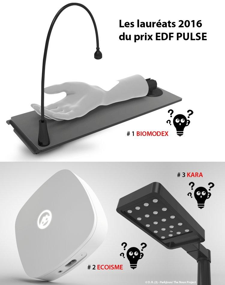 edf pr sente les laur ats 2016 des prix edf pulse a m. Black Bedroom Furniture Sets. Home Design Ideas