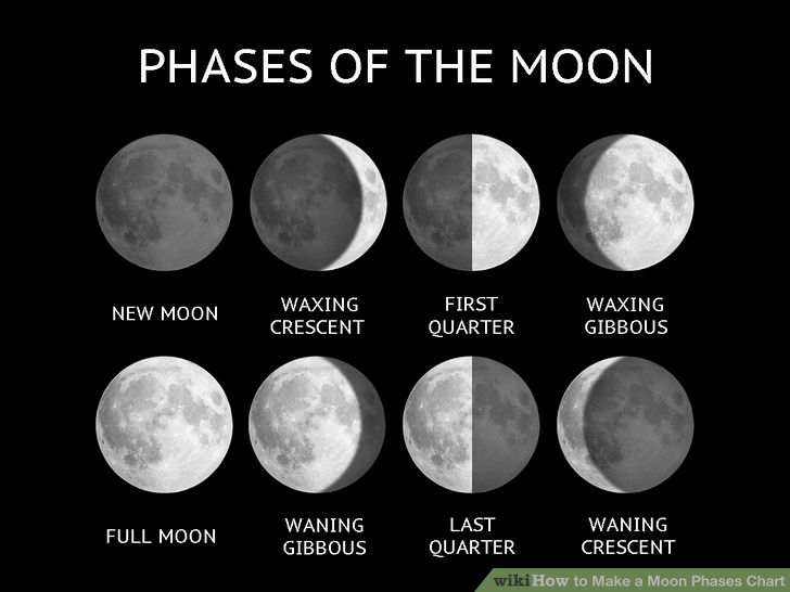 lunar phases in space - photo #20
