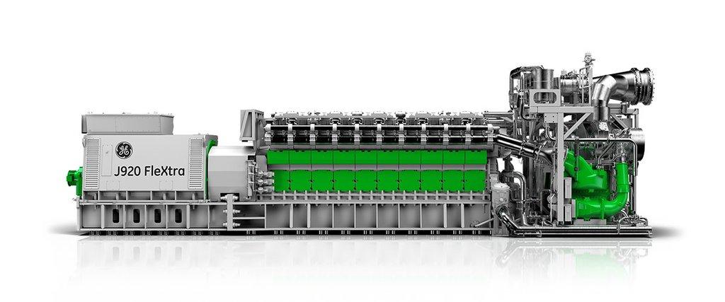 jenbacher j920 flextra gas engine remote chp power ge power rh ge com GE Jenbacher 420 GE Gas Turbine