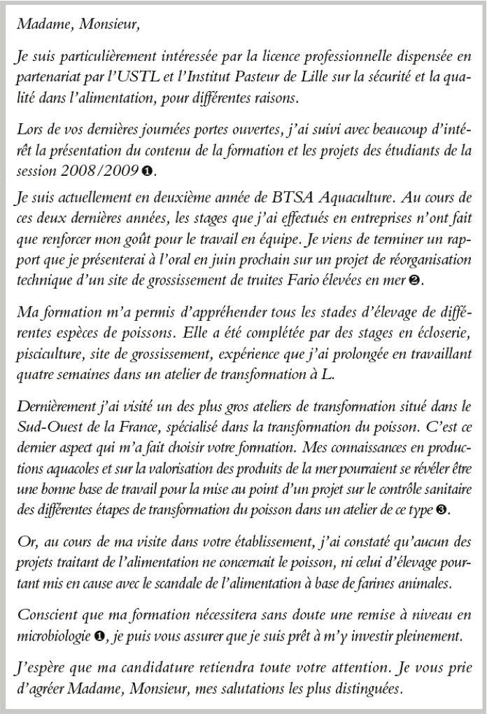 Candidature En Licence Pro Sqal Se Renseigner Sur Le Cursus Un
