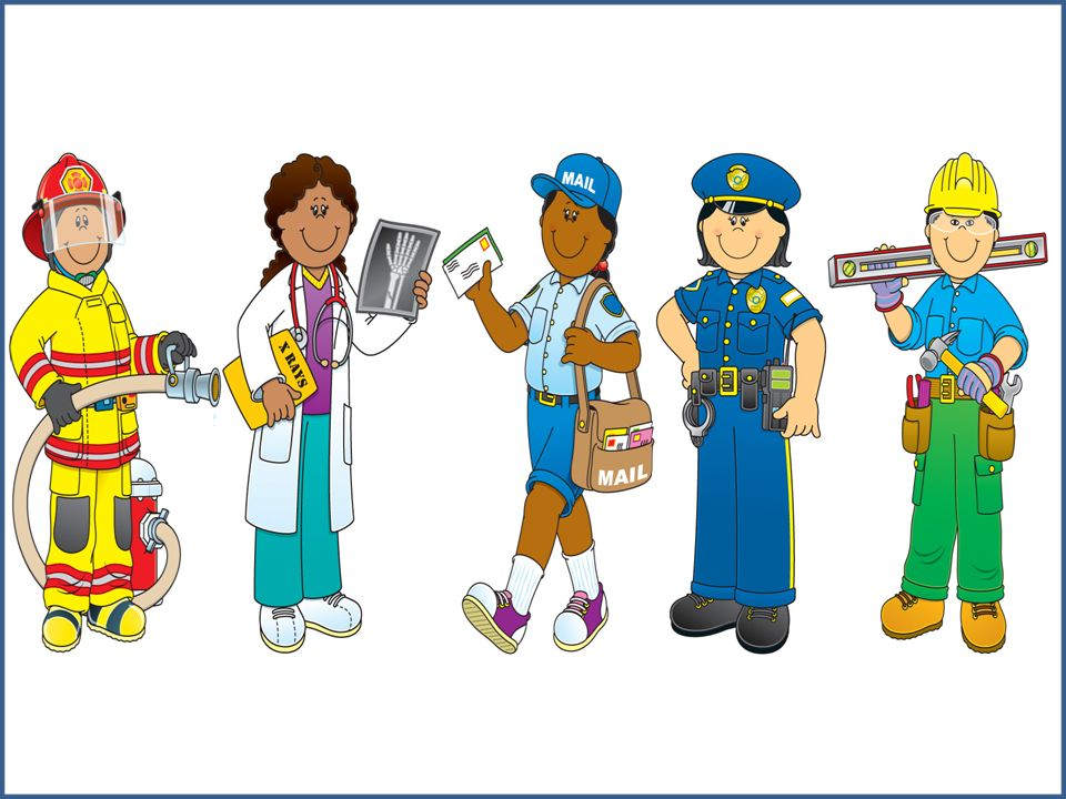 Community Helpers Thinglink