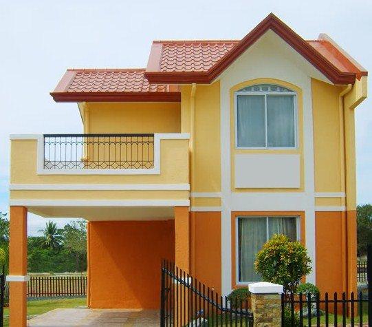 Cubiertas metalicas tipo teja thinglink for Pintura de exteriores de casas pequenas