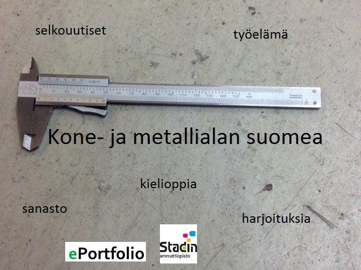 Kone- ja metallialan suomea