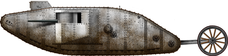 Technische specificaties Mark 1-tank (UK, 1916)