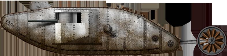 Technische specificaties Mark 1-tank (UK, 1916)