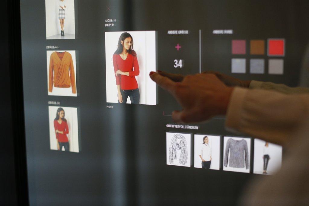 Gerry Weber: Neuer Hamburger Store mit Virtueller Umkleide