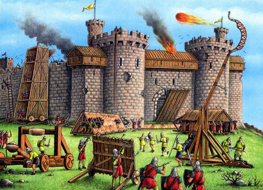 Dec logo para construir tu propio castillo medieval for Ponteggio ceta dwg