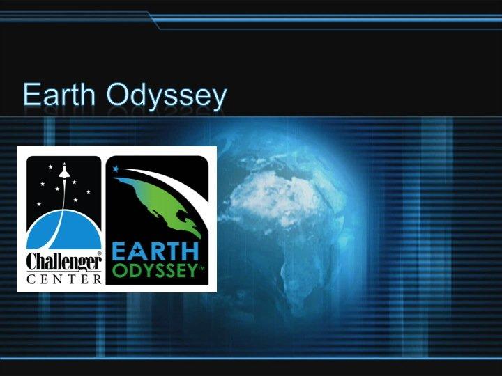 Earth Odyssey Pre-Mission Briefing
