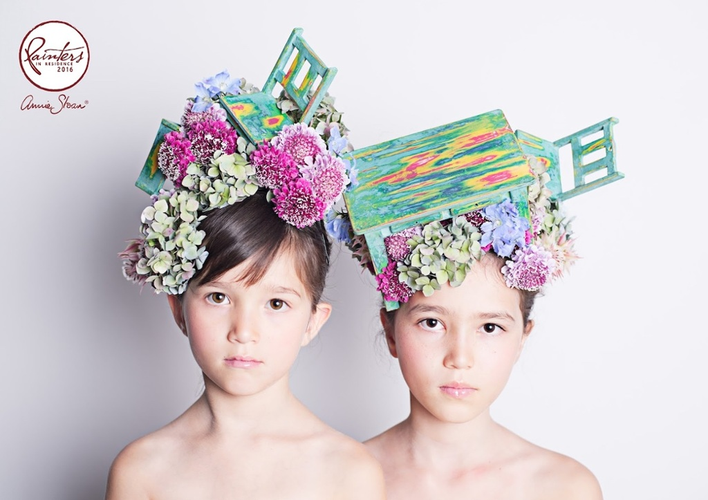 Floral Furniture Headress by Hanayuishi Takaya