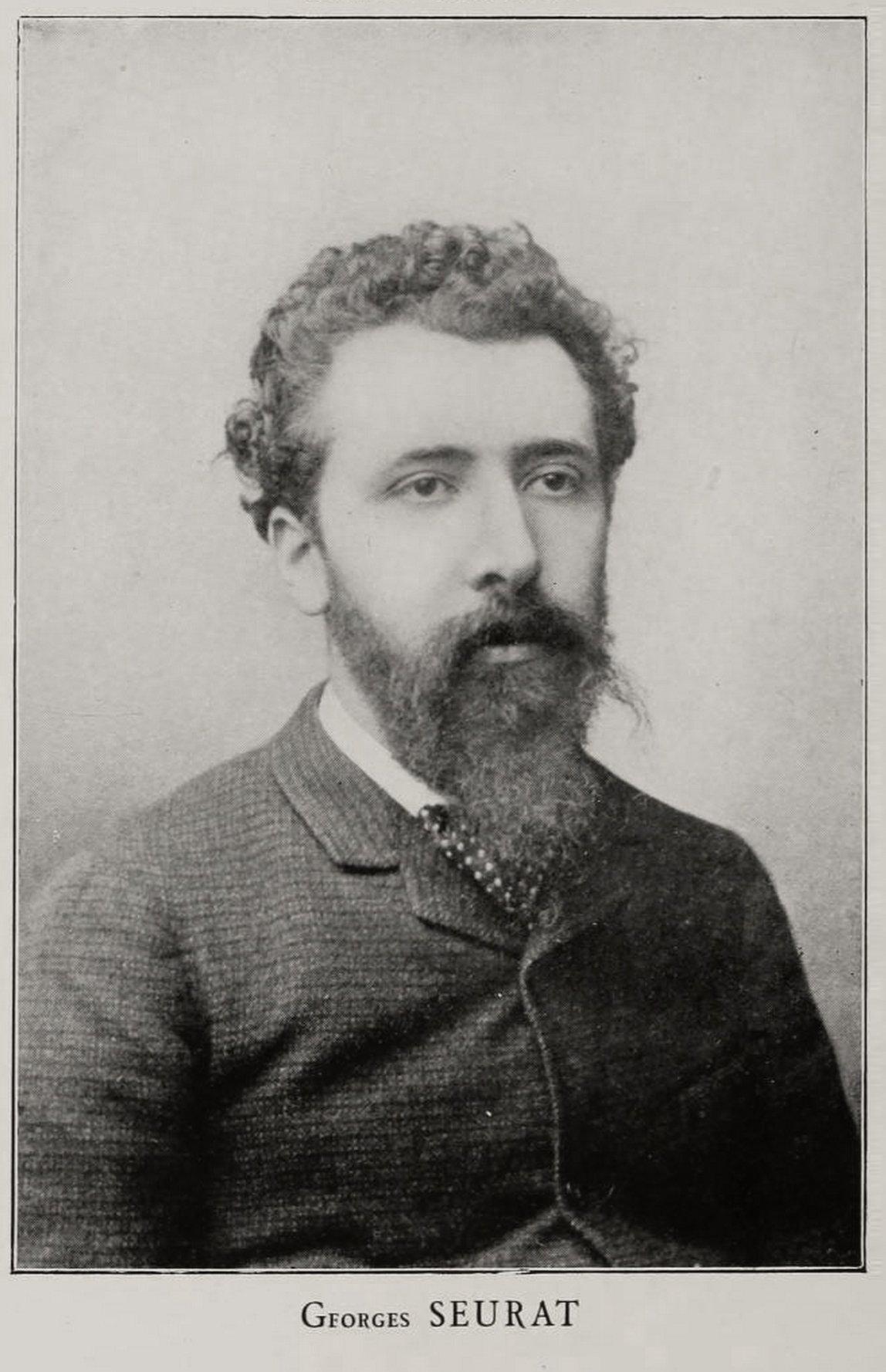 GEORGES-PIERRE SEURAT 1859. - 1891.- francuski slikar- na...