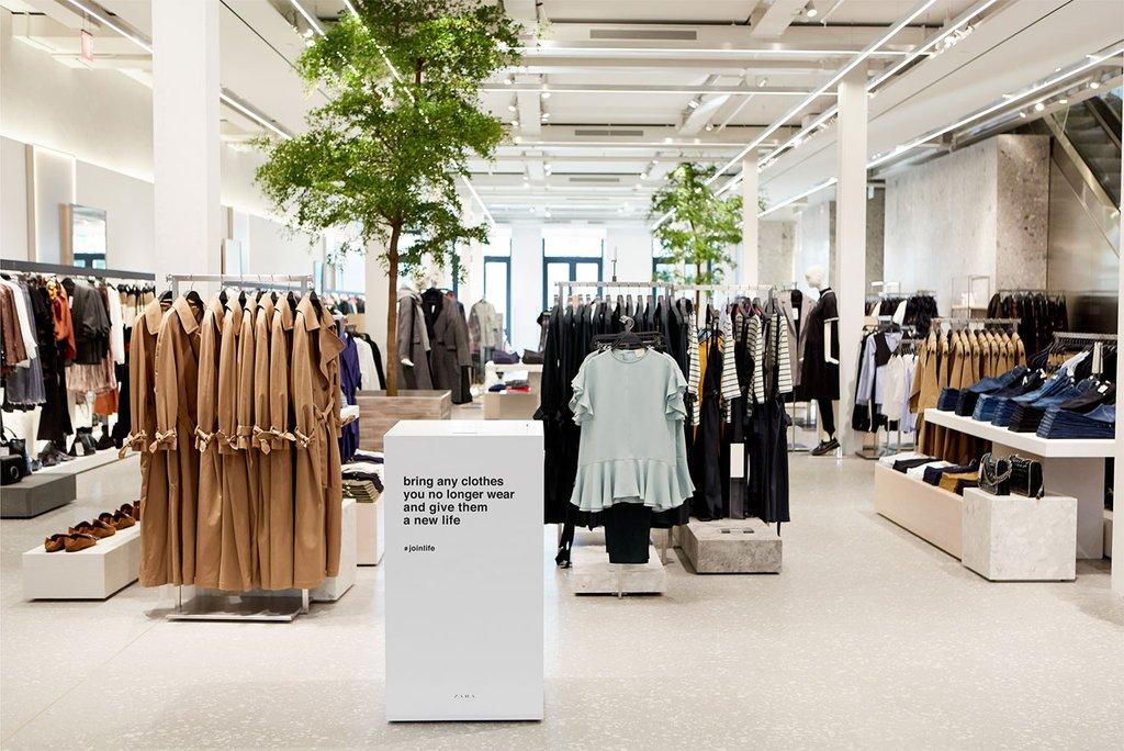 Zara lanceert eerste duurzame collectie genaamd 'Join Life'
