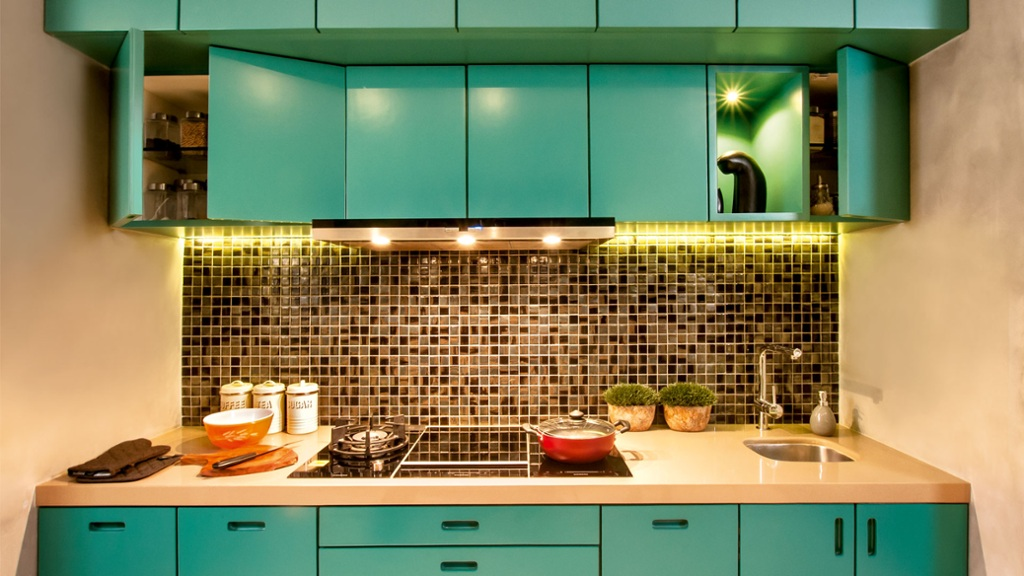 How To Give Your Kitchen A Colourful Makeover