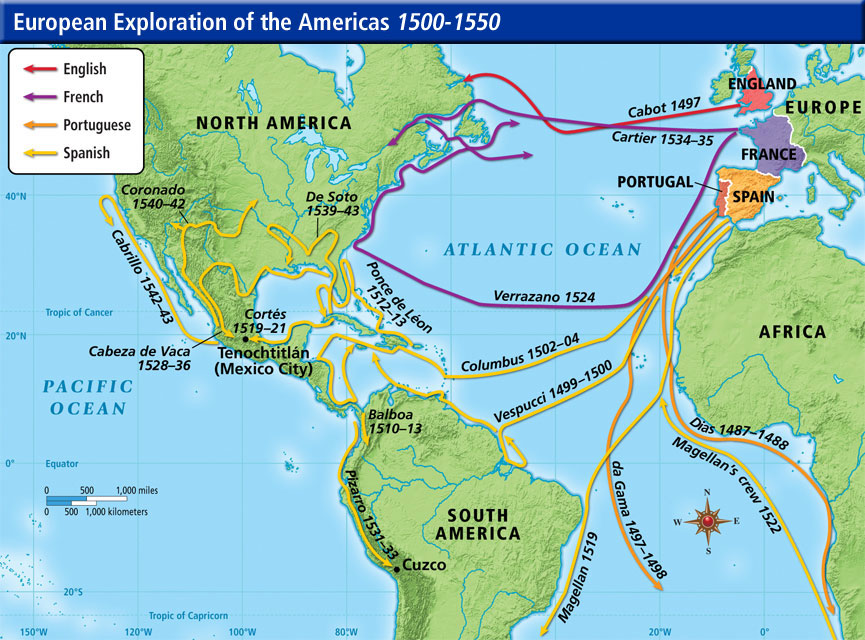 Ap World History The Age Of Exploration Where Is Our Next: Pizarro Map Route
