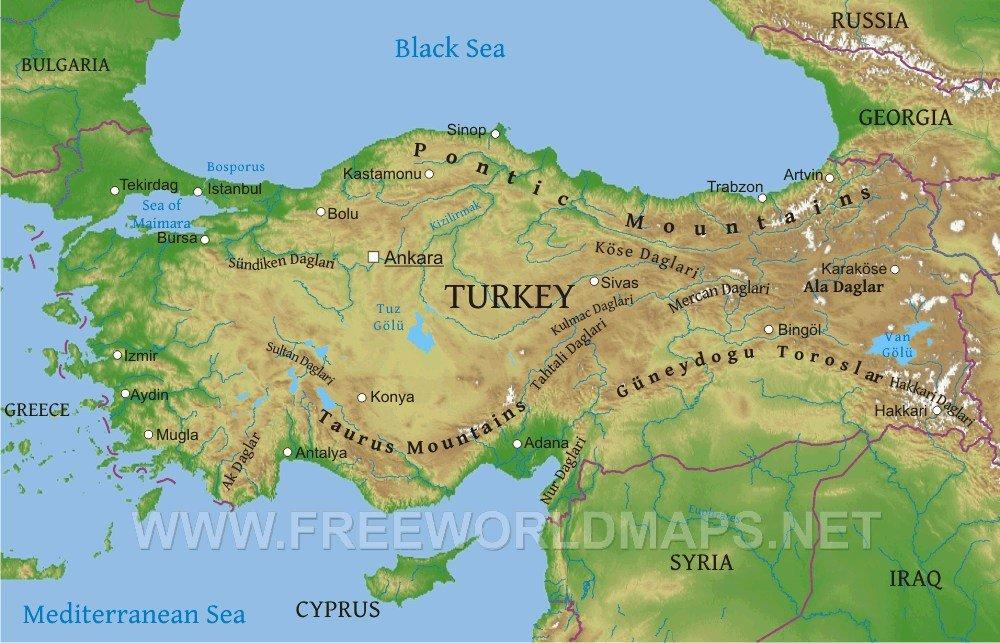 Map of Turkey - ThingLink
