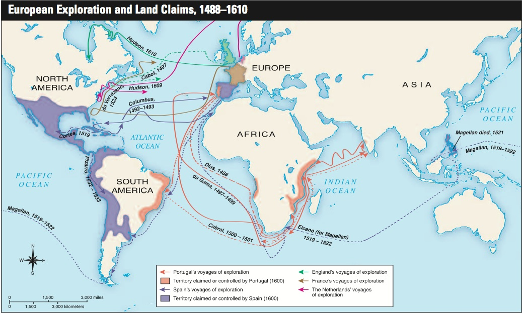 Ap World History The Age Of Exploration Where Is Our Next: Student European Explorers Links