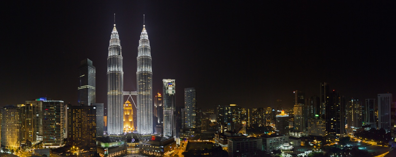 Kuala Lumpur Malaysia at Night