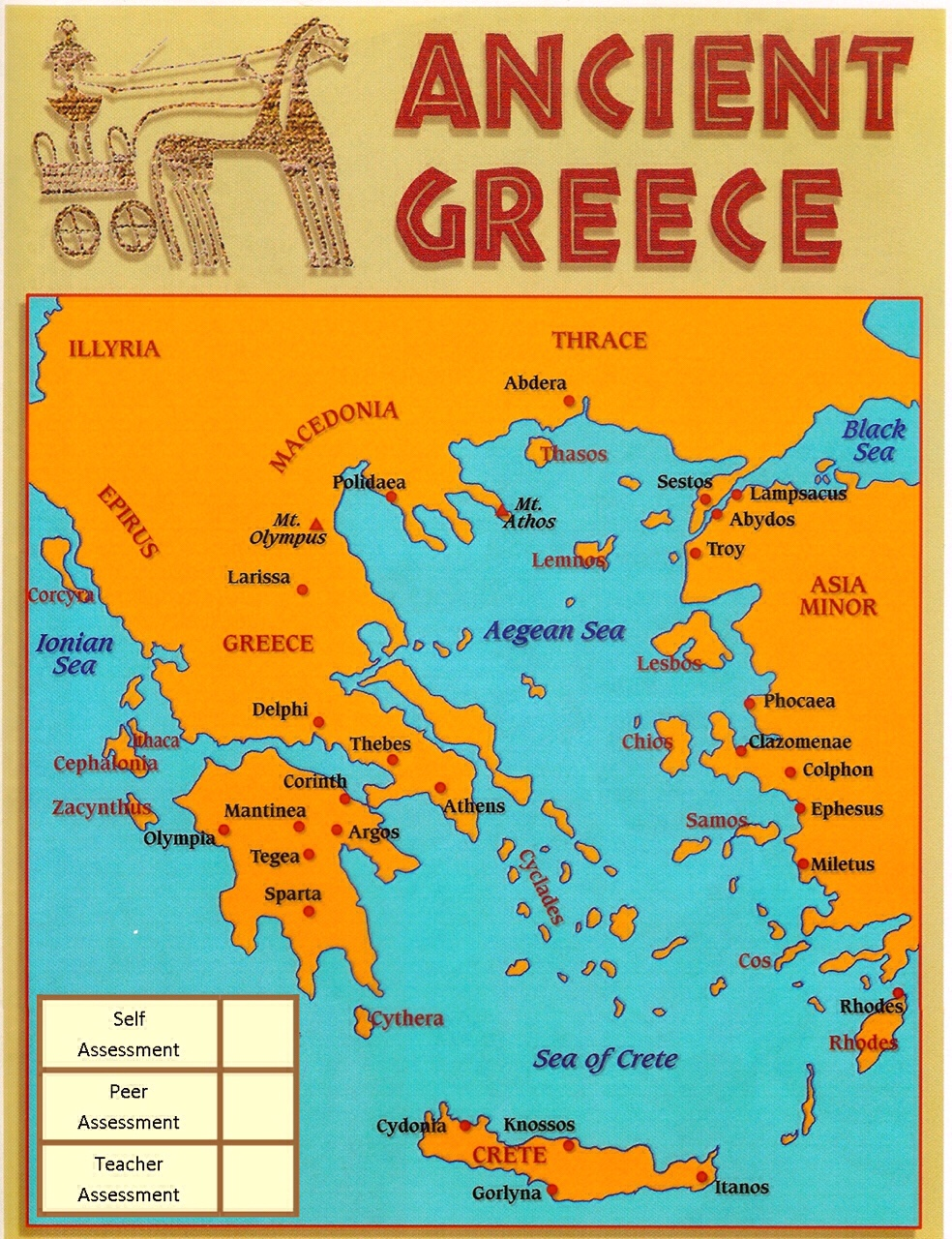 Remix Of Ancient Greece An Interactive Map