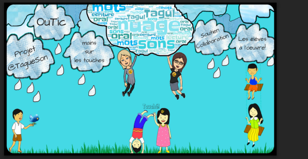 @TagueSon - Projet collaboratif de lecture pour les élèves.