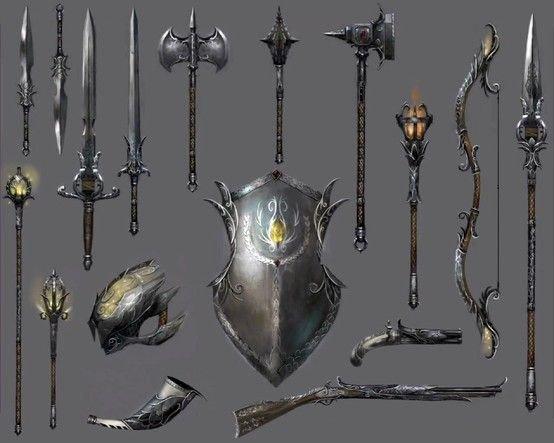 Elizabethan Weapons