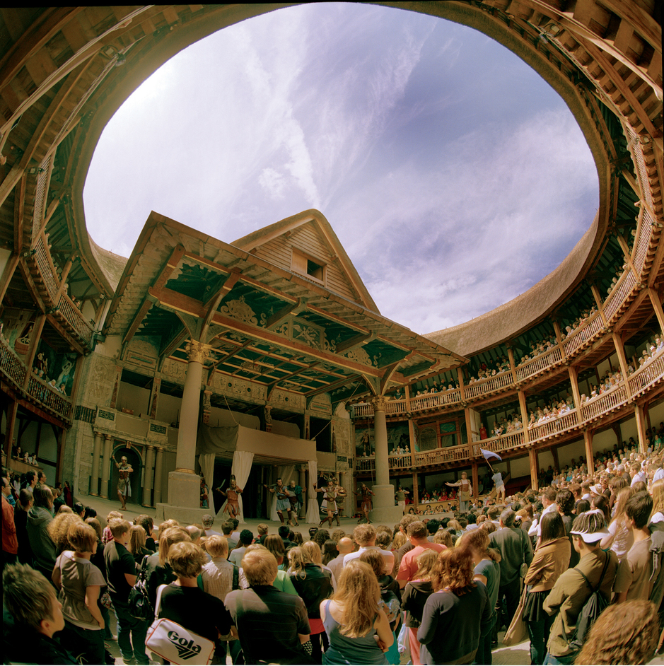 The Original Globe Theatre Burned Down In 1613 During A P