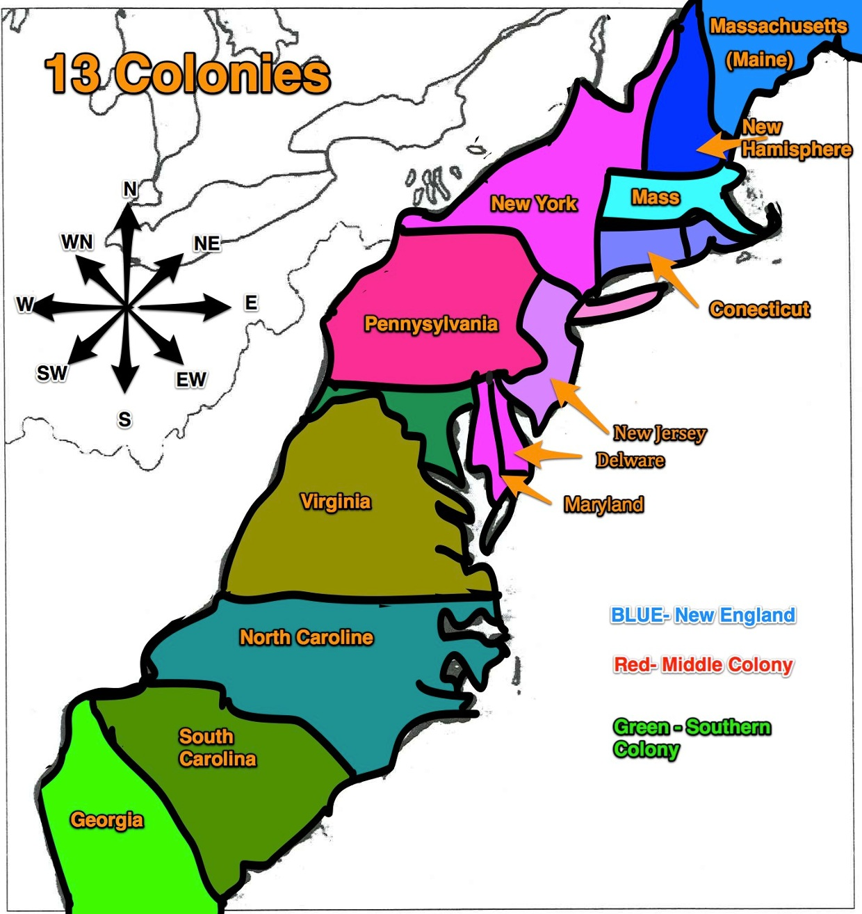 an analysis of southern colonies Learn about the religious landscape of colonial america to better understand   inhabitants of the middle and southern colonies went to churches whose style.