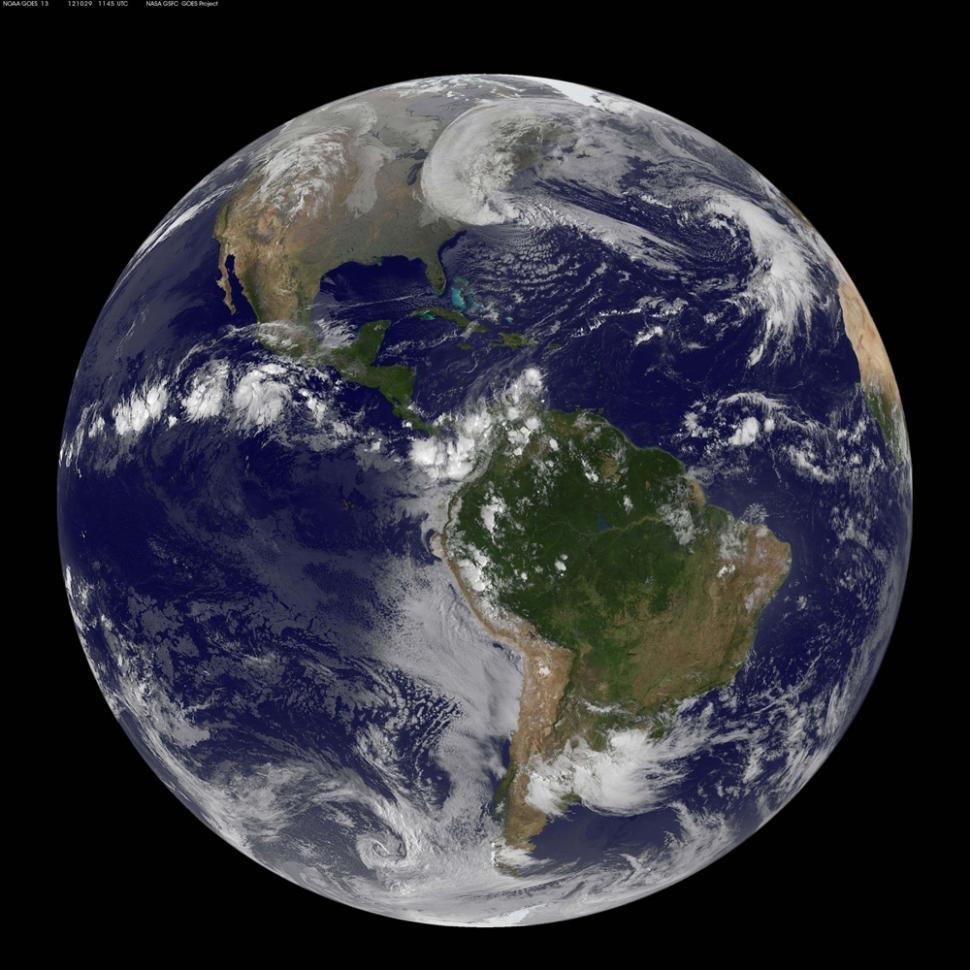 El planeta Tierra. Un espectáculo maravilloso. Video del