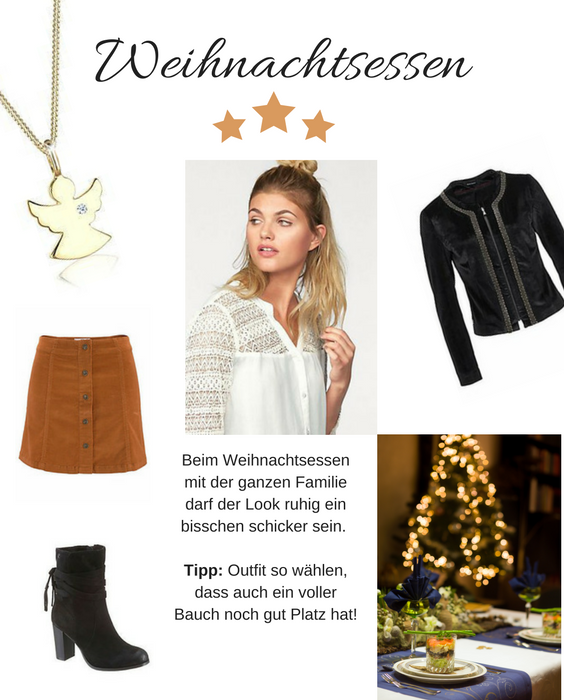 Weihnachtsessen Outfit.Diamore Halskette Engel 269 Eur Ajc Rock 39 99 Eur
