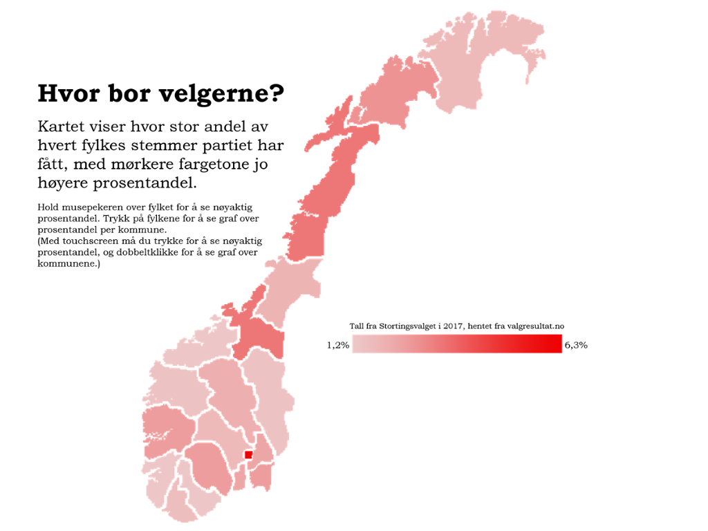 fargetone kart Politikk — Rødt: kart fargetone kart