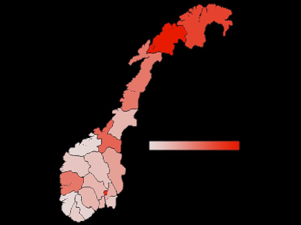 fargetone kart Politikk — SV: kart fargetone kart