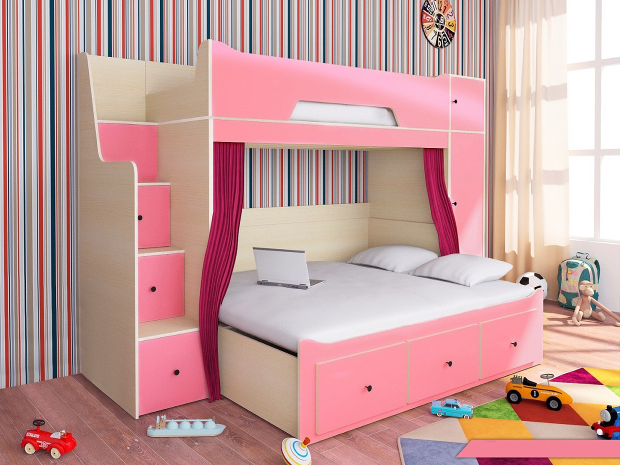 etagenbett softy kinder komfort. Black Bedroom Furniture Sets. Home Design Ideas