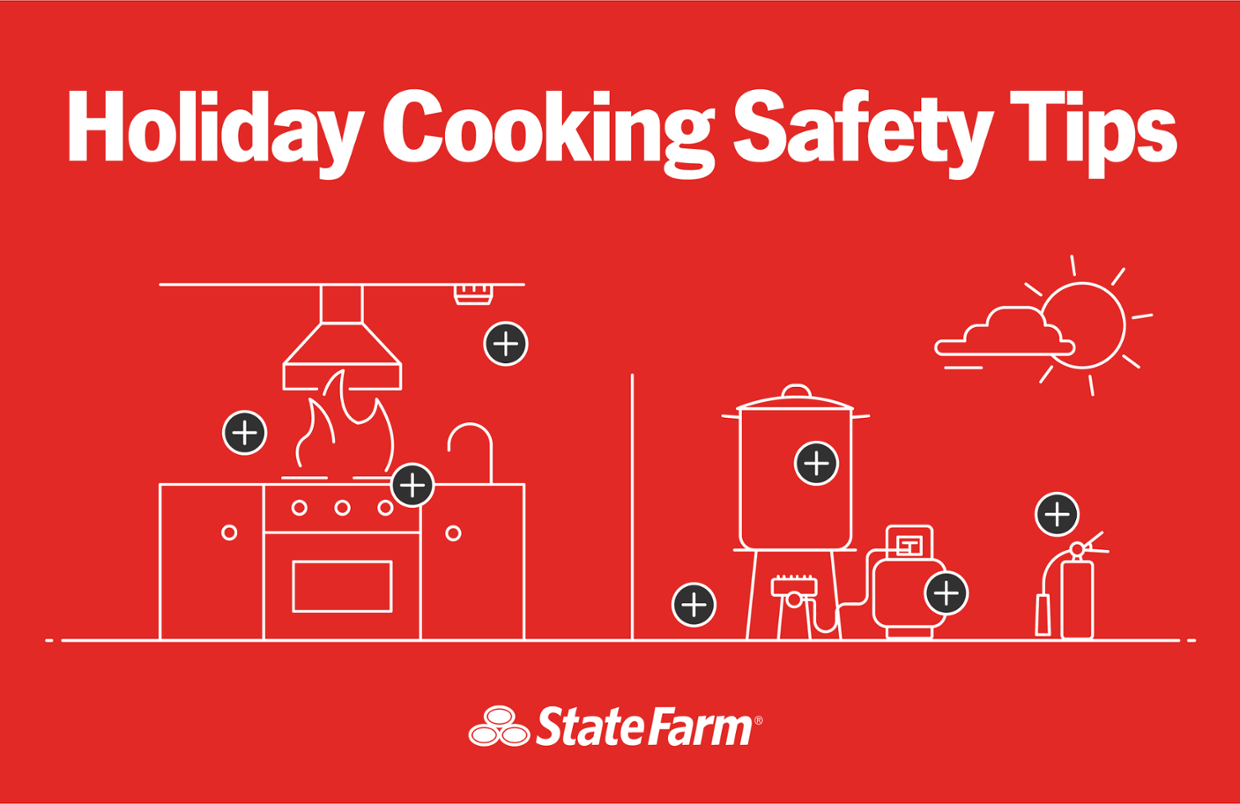 Holiday Cooking Safety Reminders from State Farm