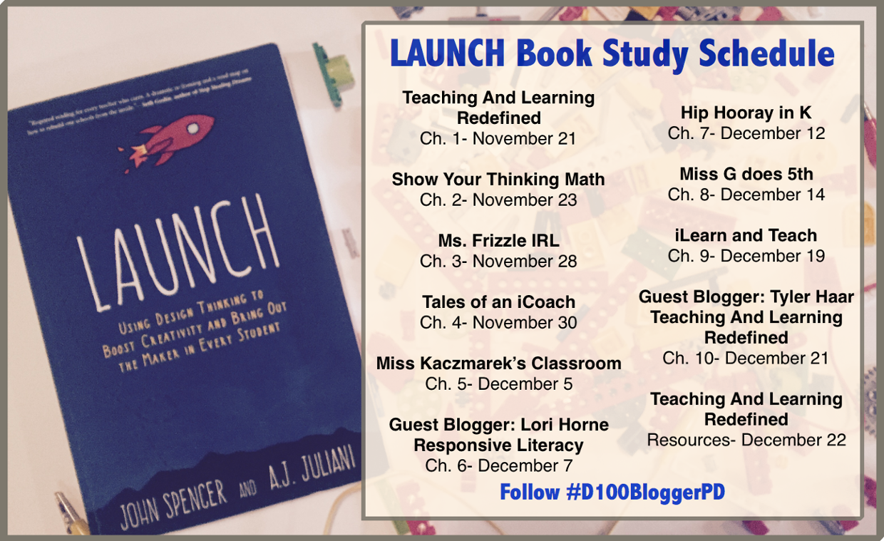 LAUNCH Book Study Schedule