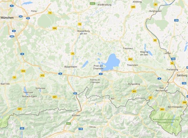 Lte Masten Karte.Mobilfunknetz Zwischen Munchen Und Salzburg Bleibt Geheimnis