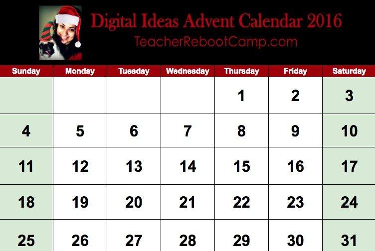 December Advent Calendar 2016