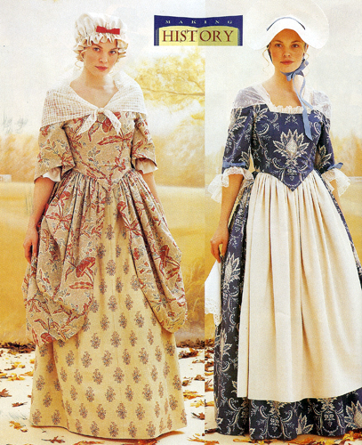 Women S Clothing In Colonial America