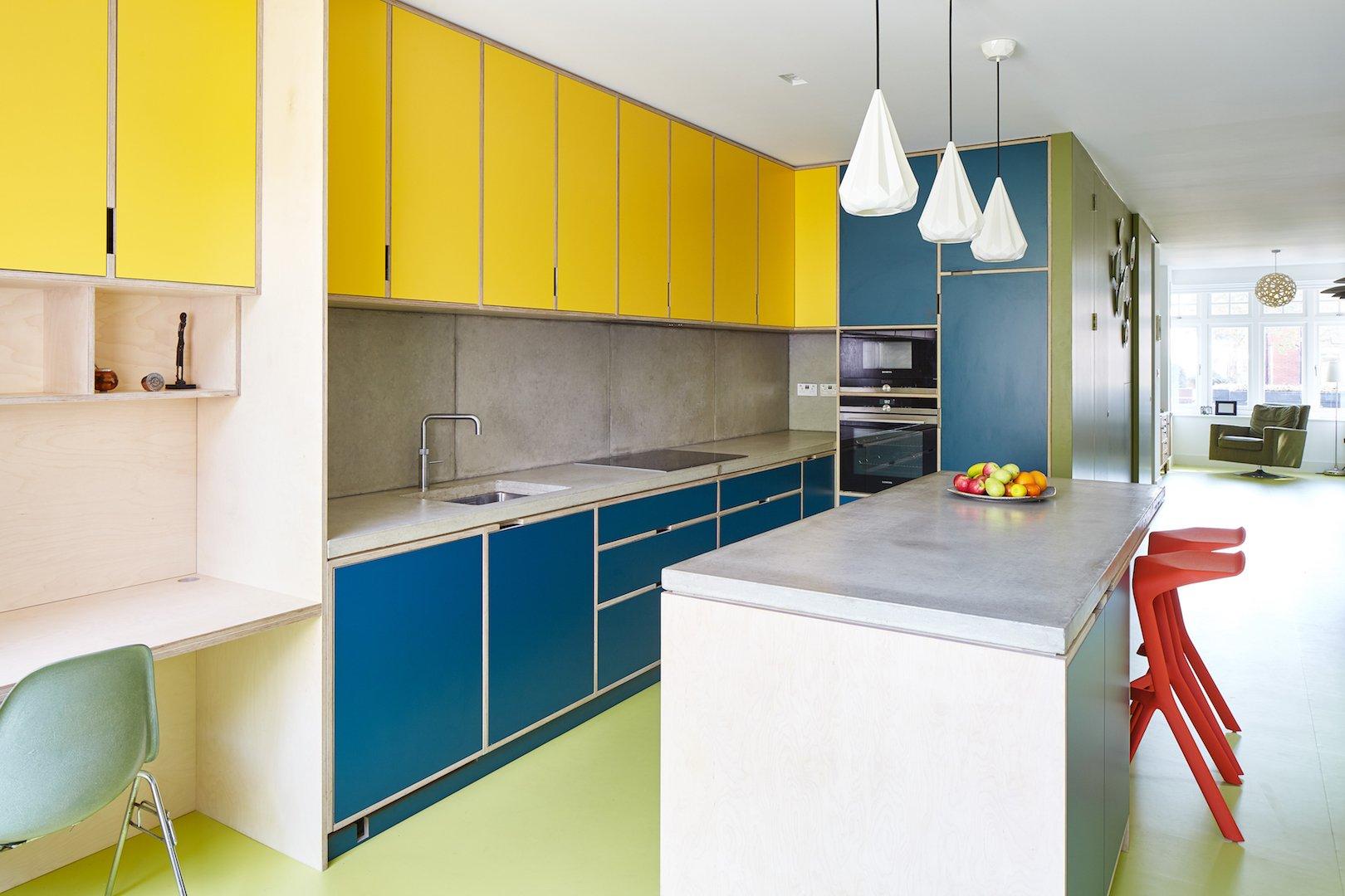Kennington House kitchen by R2 Studio Architects