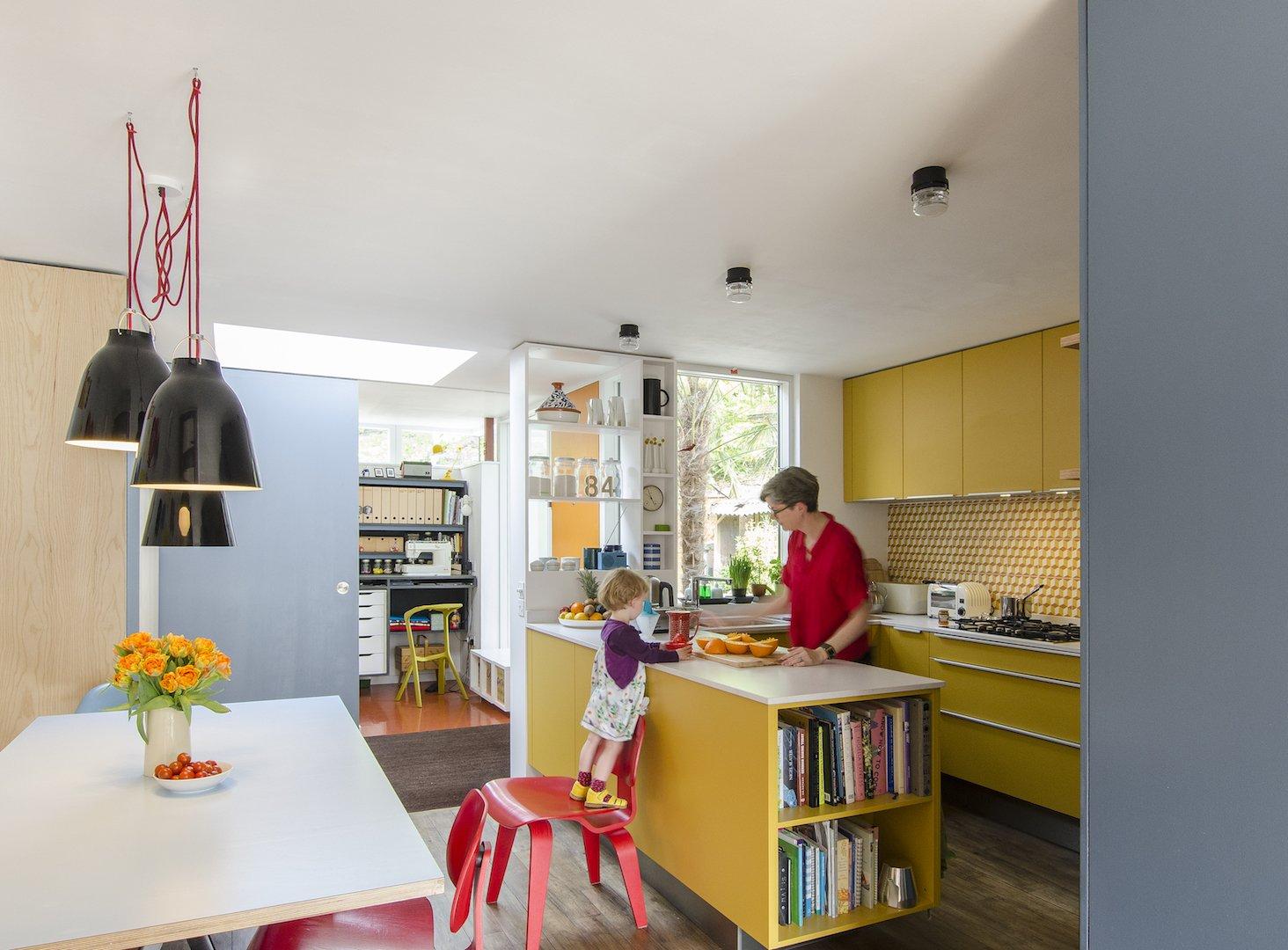 Delawyk Modular House kitchen by R2 Studio Architects