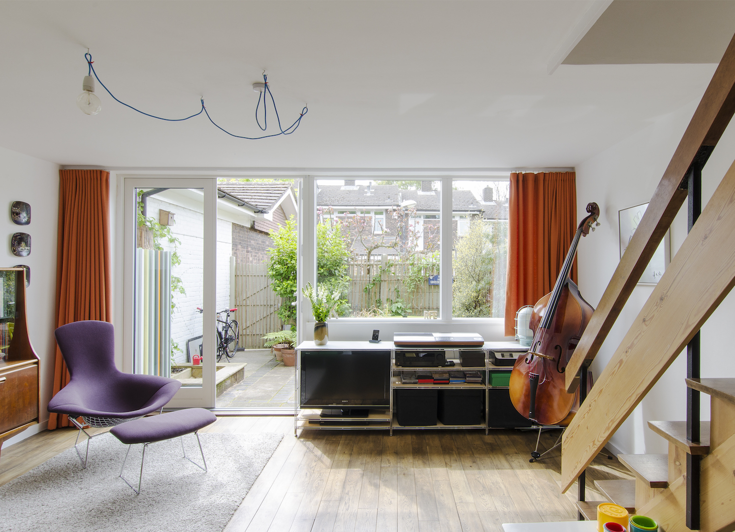 Delawyk Modular House living room by R2 Studio Architects