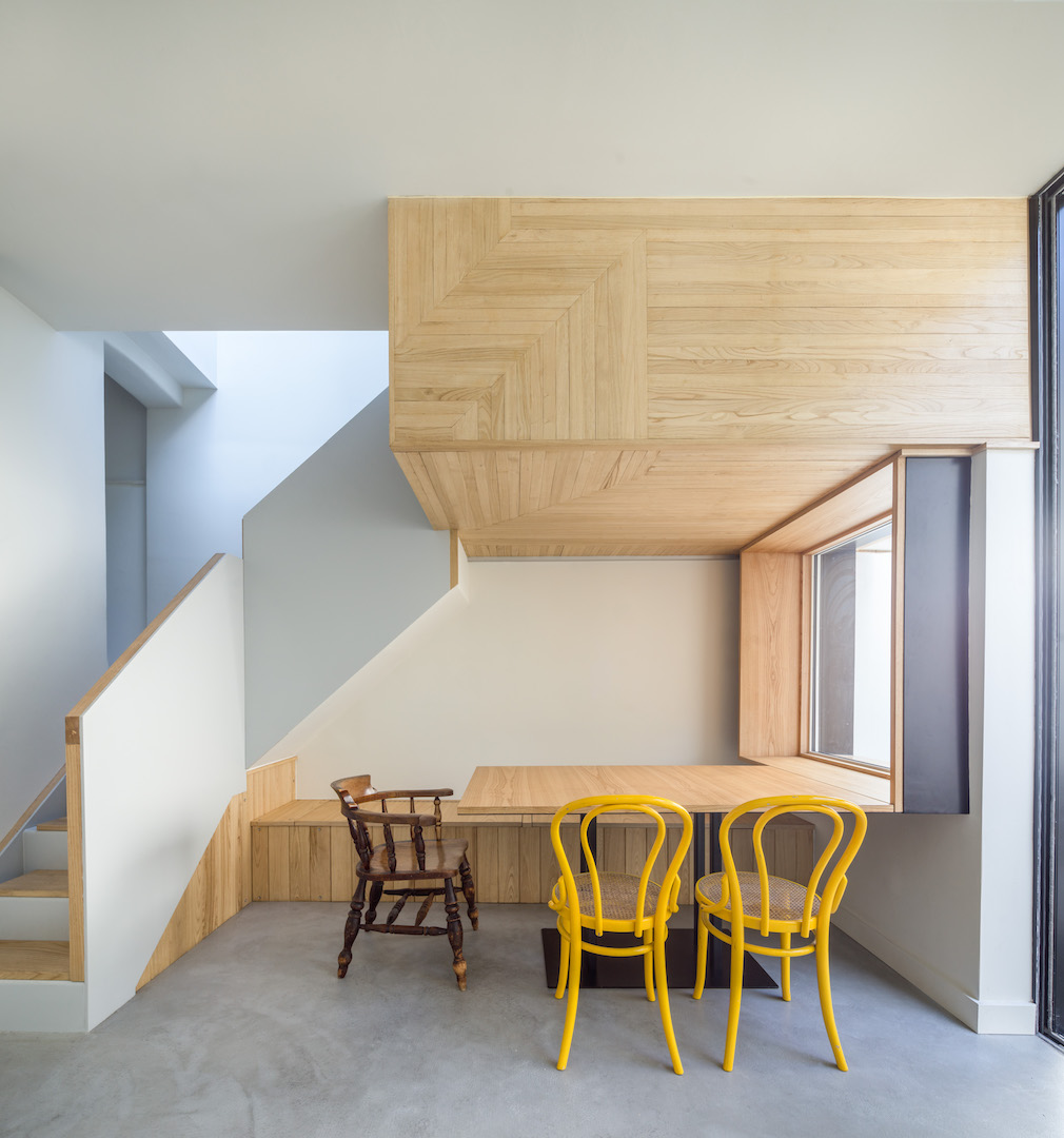 Molyneux Street dining room by Patrick Lewis Architects