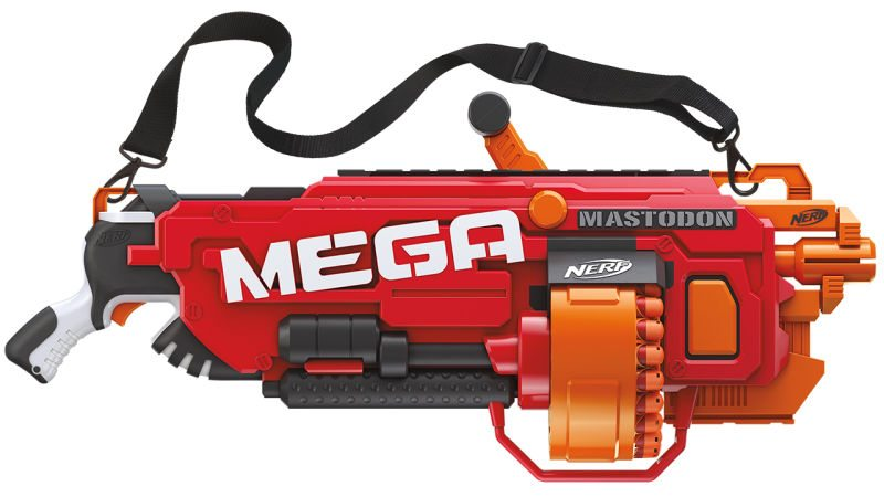 <div>Most of the toys are a variety of foam-based weaponry, but there are  also several different types of Nerf toys, such as balls for sports like  football, ...