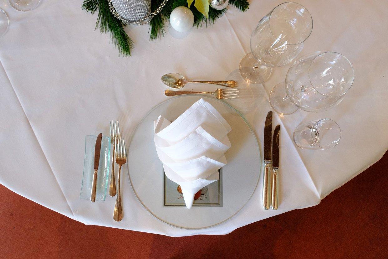 Tisch Eindecken Am Beispiel Eines 3 Gange Menus