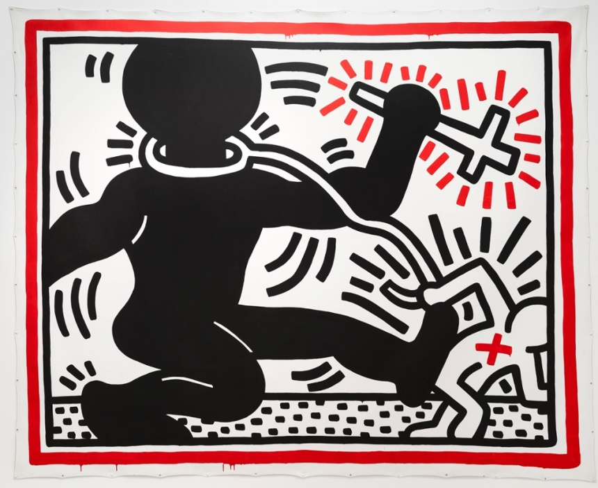 Keith Haring - Wikipedia , Apartheid - Wikipedia , keith ...