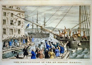 The Boston Tea Party 1773  ThingLink